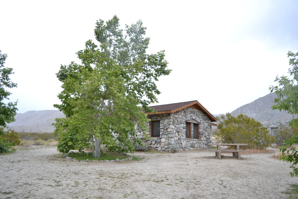 stone cabin at mission creek preserve